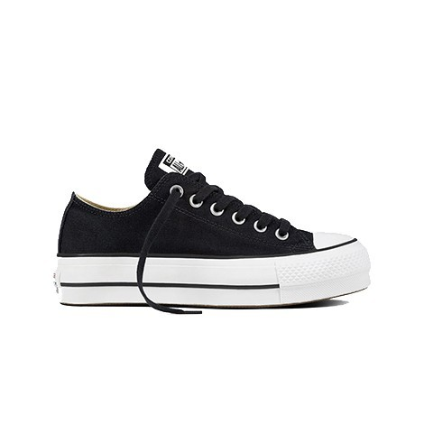 converse all stars negras mujer