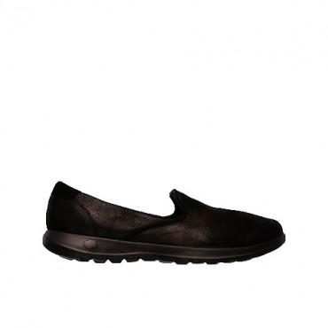 SKECHERS GOWALK LITE - QUEENLY NEGRO