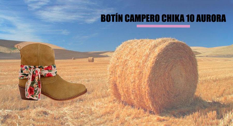 BOTÍN CAMPERO CHIKA 10