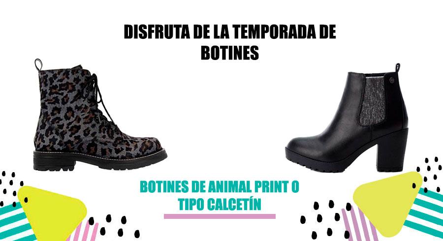 TEMPORADA DE BOTINES PARA MUJER