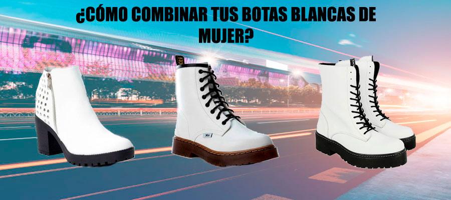 BOTAS BLANCAS DE MUJER